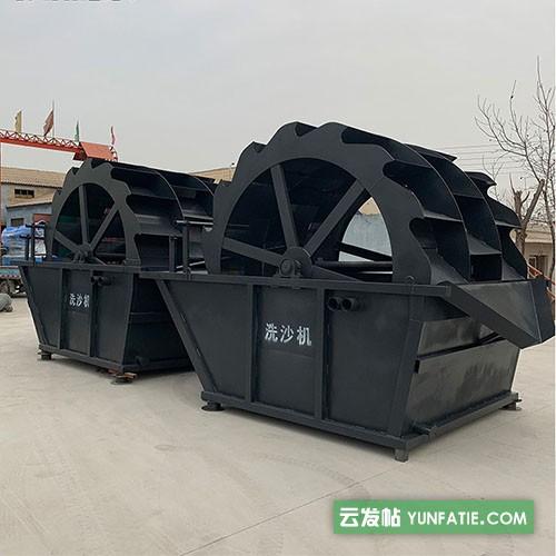 湖北大小型洗砂机水轮_黄冈洗砂机生产线分级机大型风化砂筛洗