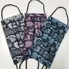 泉州厂家供应女生向时尚蕾丝口罩 印花水刺无纺布