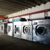 秦皇岛低价转让整套二手海狮水洗厂设备二手百强折叠机送布机