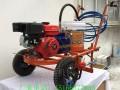 多功能热熔式喷线机 手扶式路面标线机 广场画线机